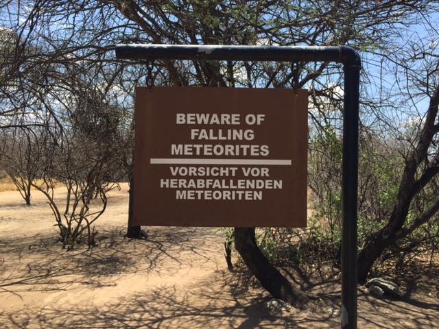 Cartel Meteorito Namibia