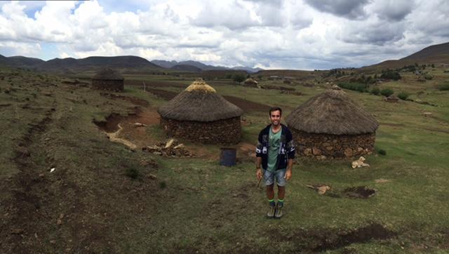 Casa típica de Lesoto