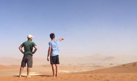 Desierto del Nambi y Duna 45 en Namibia