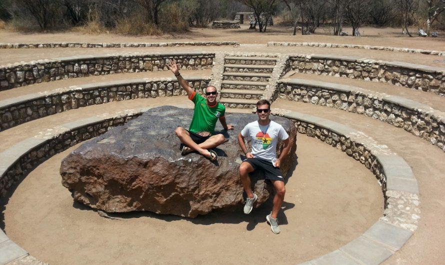 Meteorito caído hace 80.000 años en Namibia