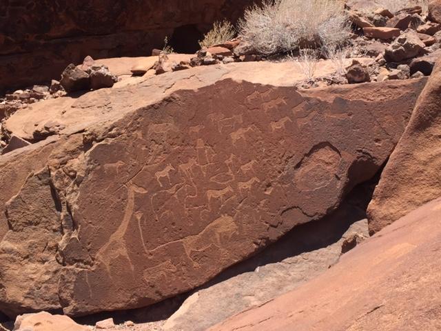 Twyfelfontein Petroglifos (Namibia)