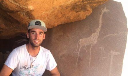Petroglifos de Twyfelfontein en Namibia