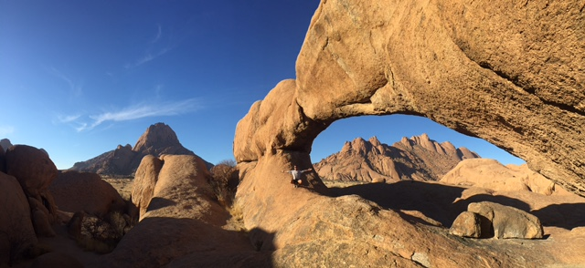 Spitzkoppe Rock Bridge