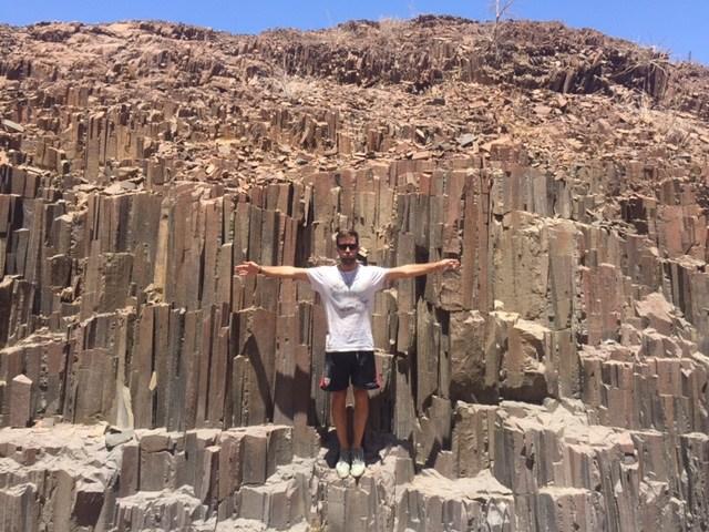 Tubos de Órgano y Montaña Quemada (Namibia)