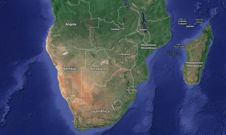 Viaje sur África