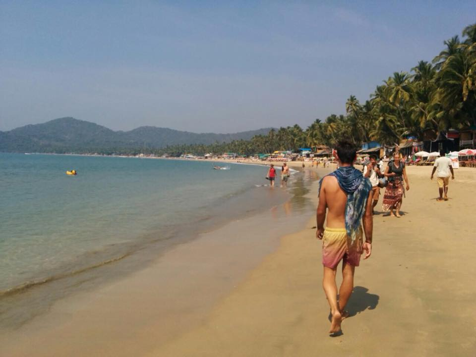 Playas de Goa (India). Sur de la India Mochilero.