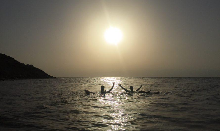 Bañarse en el Mar Muerto gratis