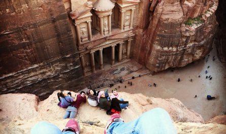 Jordania de mochilero, visitar Petra