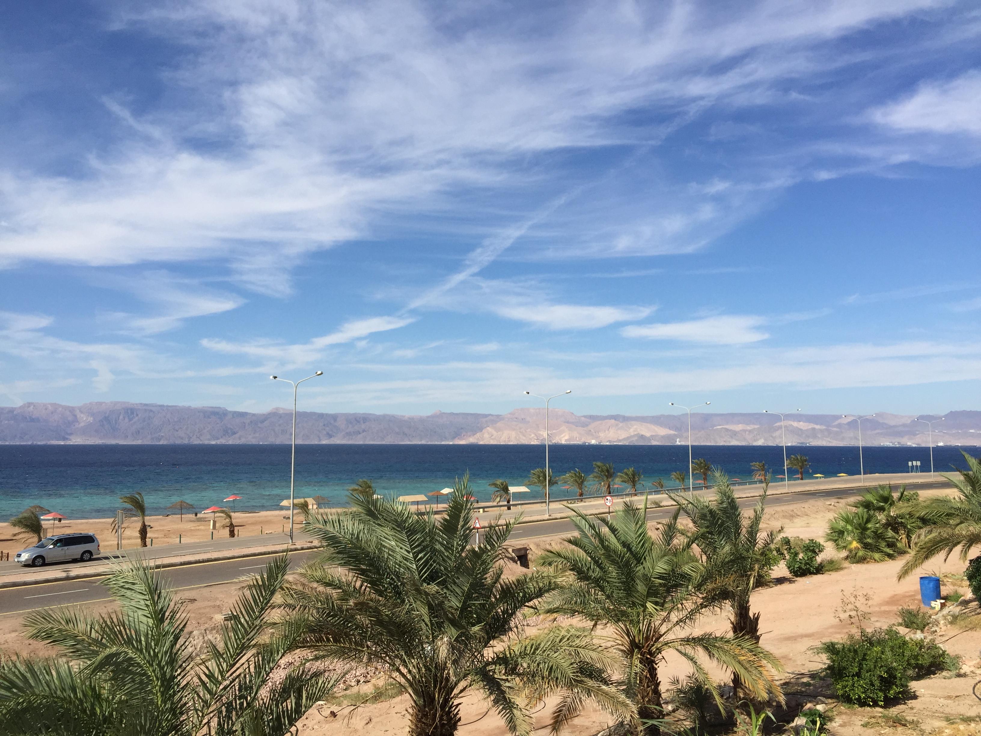 Golfo de Aqaba, parte del viaje a Jordania