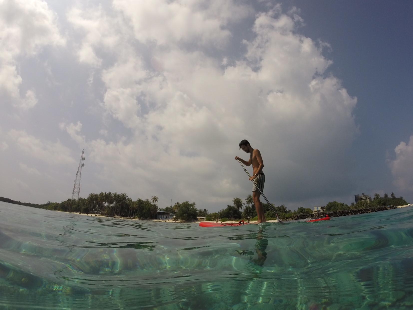 Paddle Surf en Maldivas