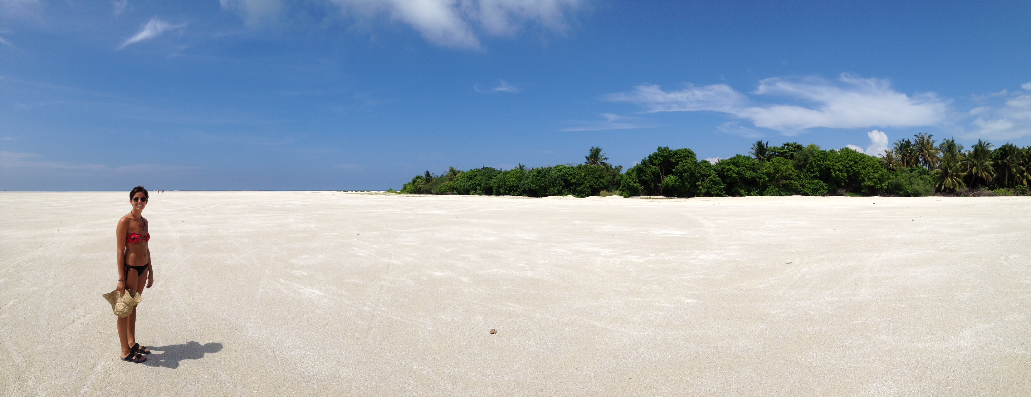 Playas en Thulusdhoo (Maldivas)