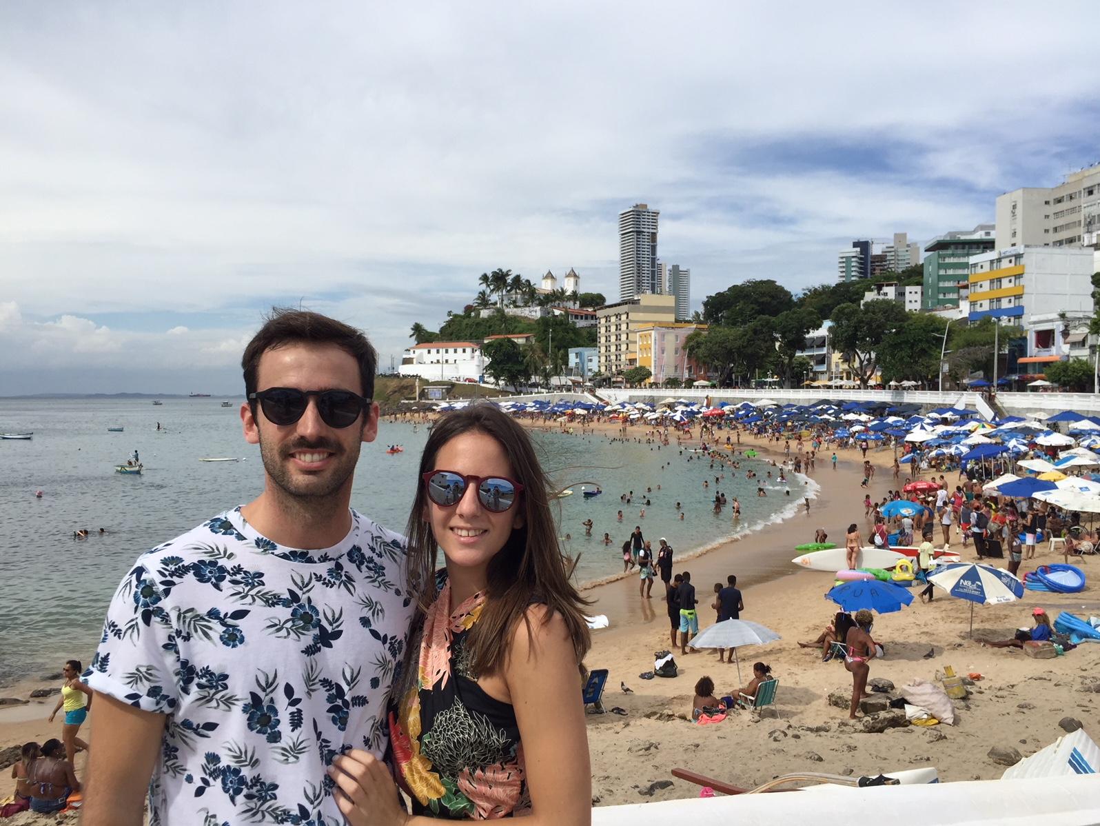 Playas en Salvador de Bahia