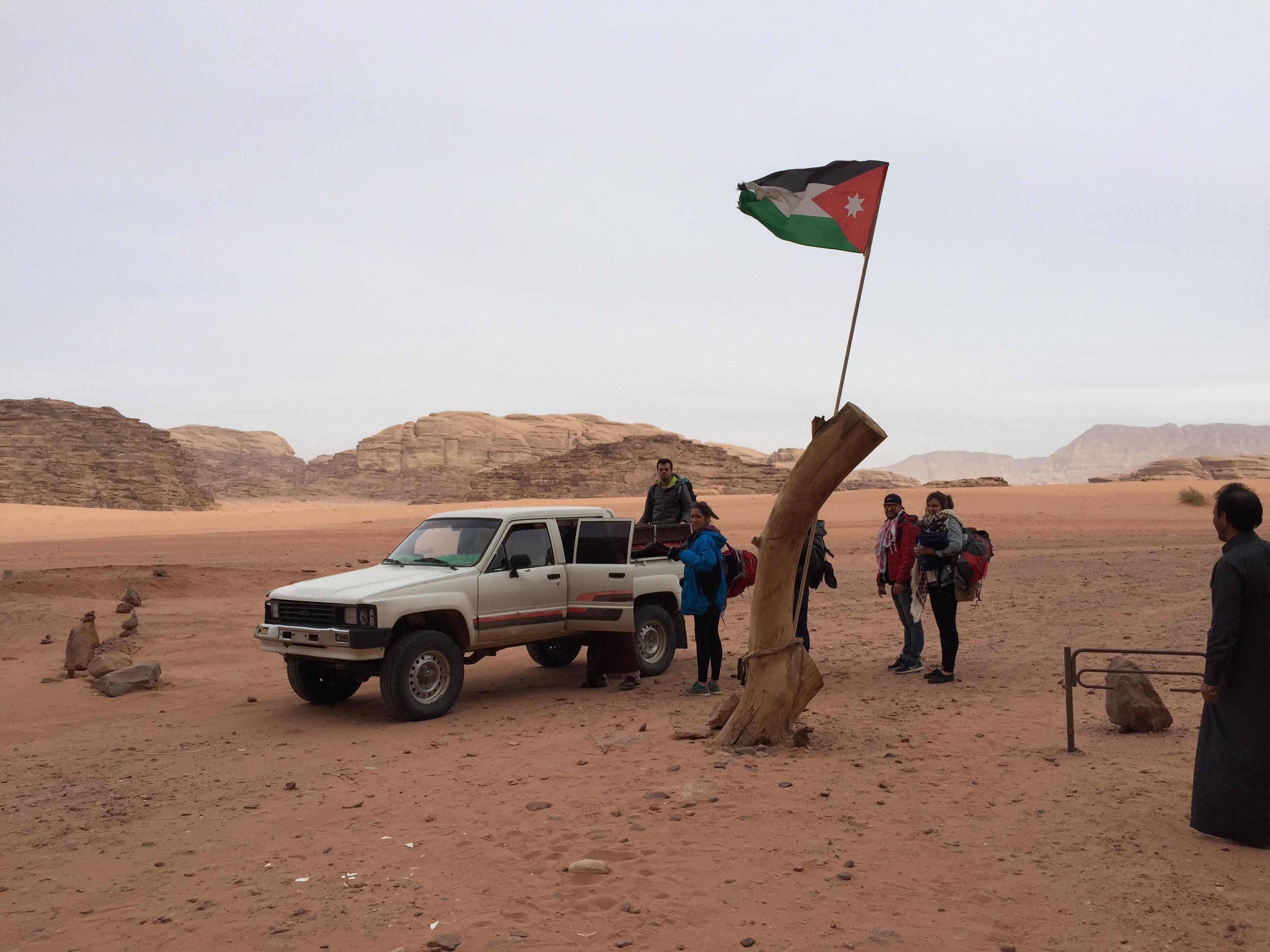Ruta en 4x4 por el desierto de Wadi Rum (Jordania)