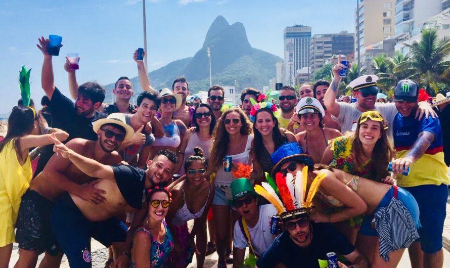 4 días en el Carnaval de Río de Janeiro (Brasil)