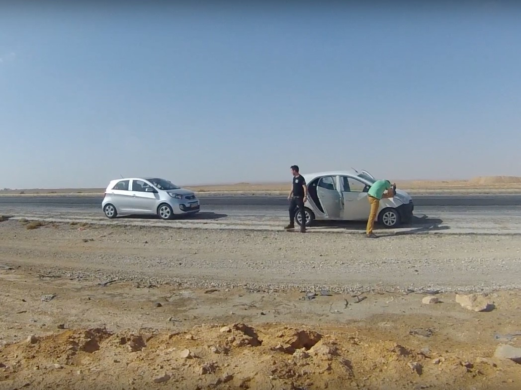 Los coches de alquiler que utilizamos para hacer la ruta por Jordania en 7 días