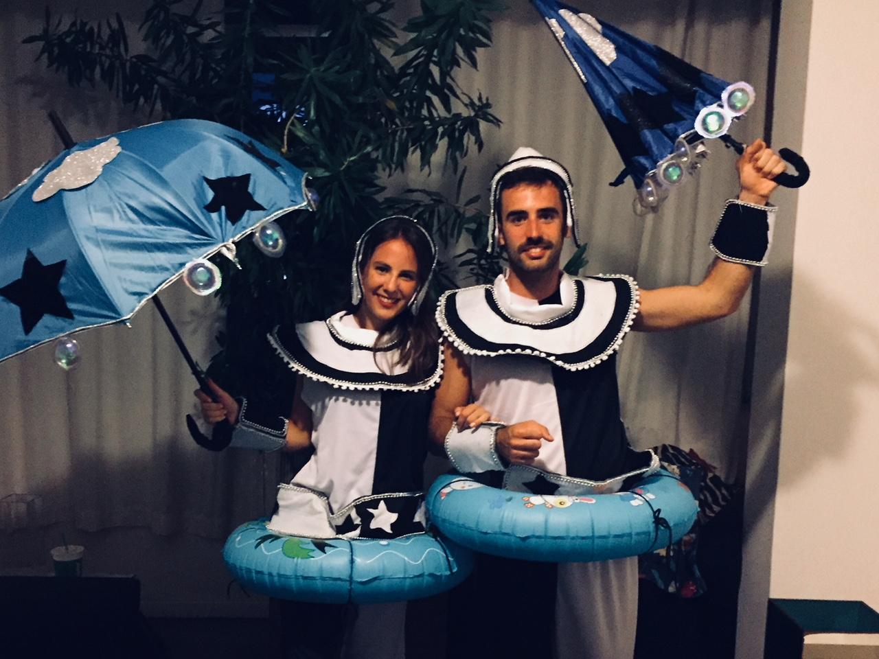 """Vestidos con la """"fantasia"""" de nuestra escuela de samba"""
