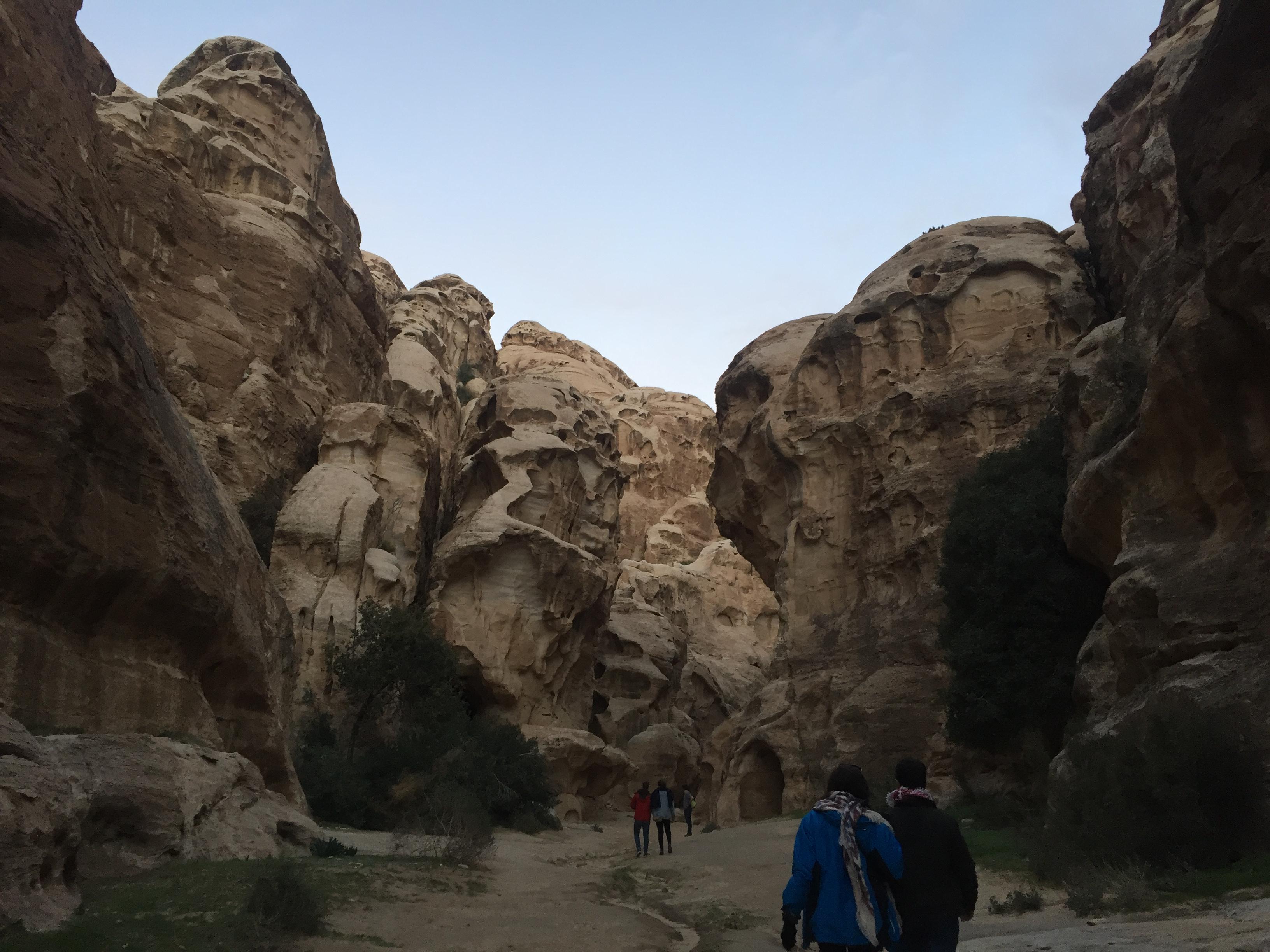 """Caminando por la """"Pequeña Petra"""""""