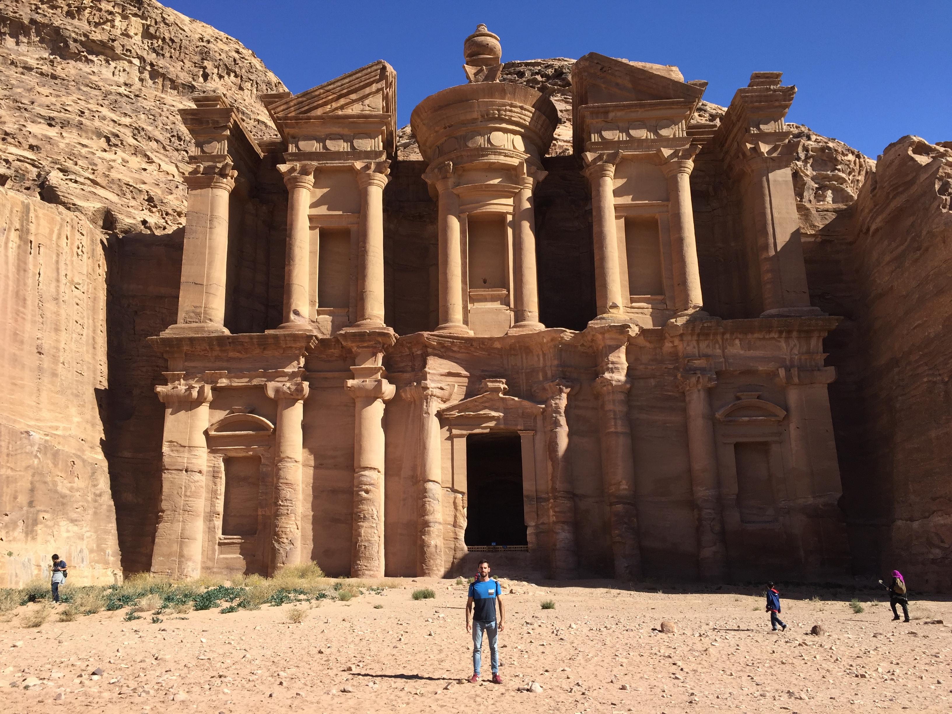 El Monasterio de Petra, en los confines del enclave arqueológico