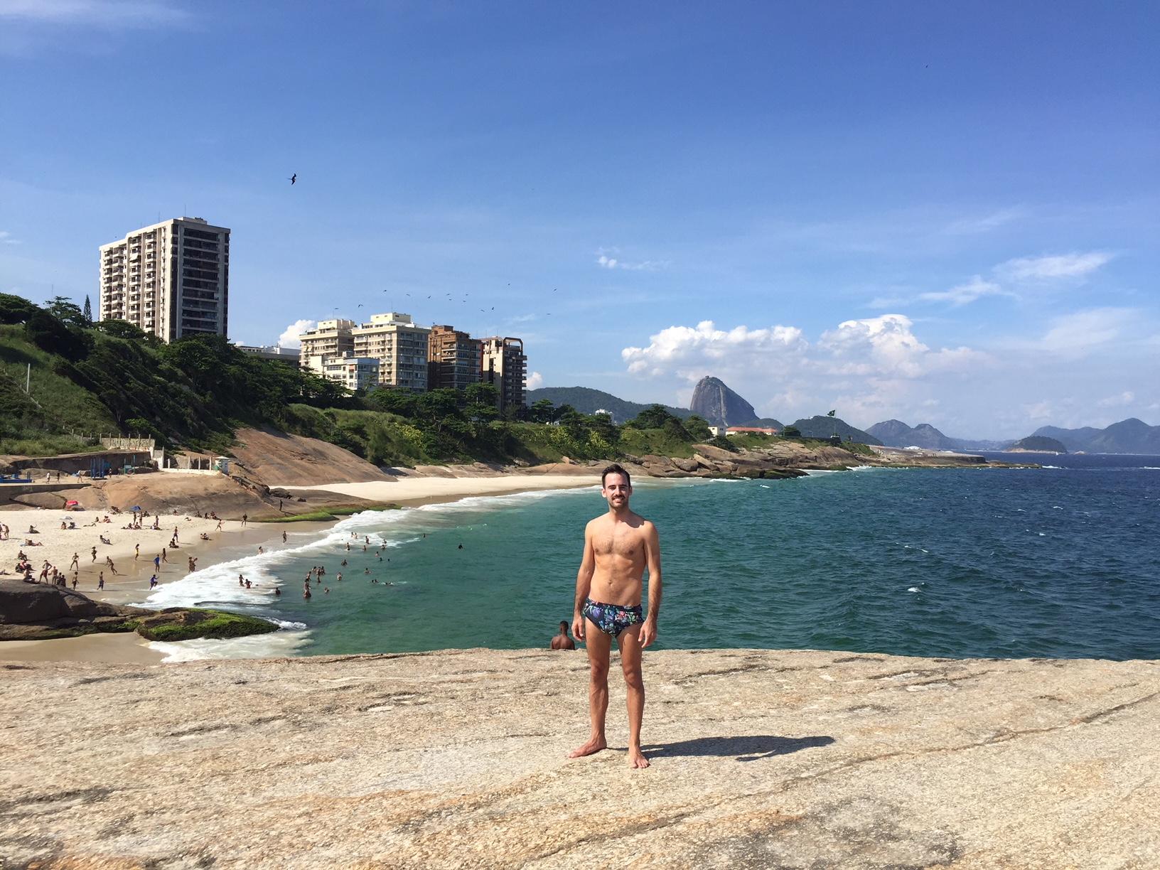 Punta del Arpoador, entre las playas de Copacabana e Ipanema
