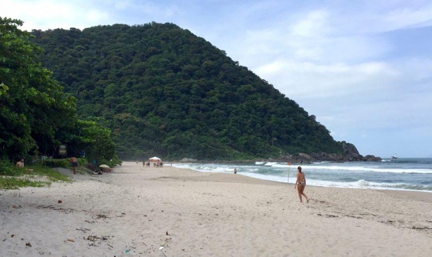 Playa Blanca; la playa hippie de Guarujá