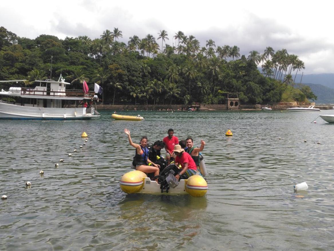 Qué hacer en Ilhabela: buceo en Playa de las Cabras