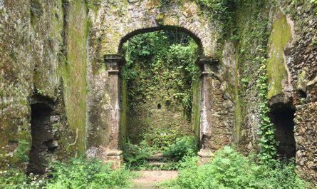 Ermita en Ruinas en Brasil (Selva Guarujá)