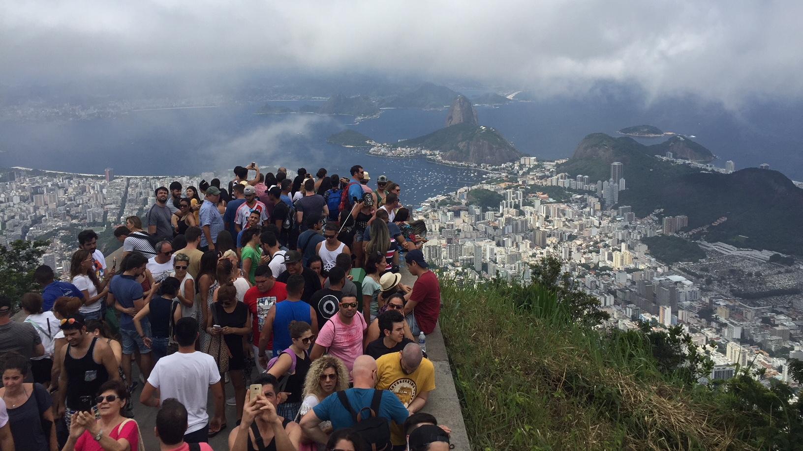 Vista de Rio de Janeiro desde el Cristo Redentor, una de las mejores cosas que ver y que hacer en Rio de Janeiro