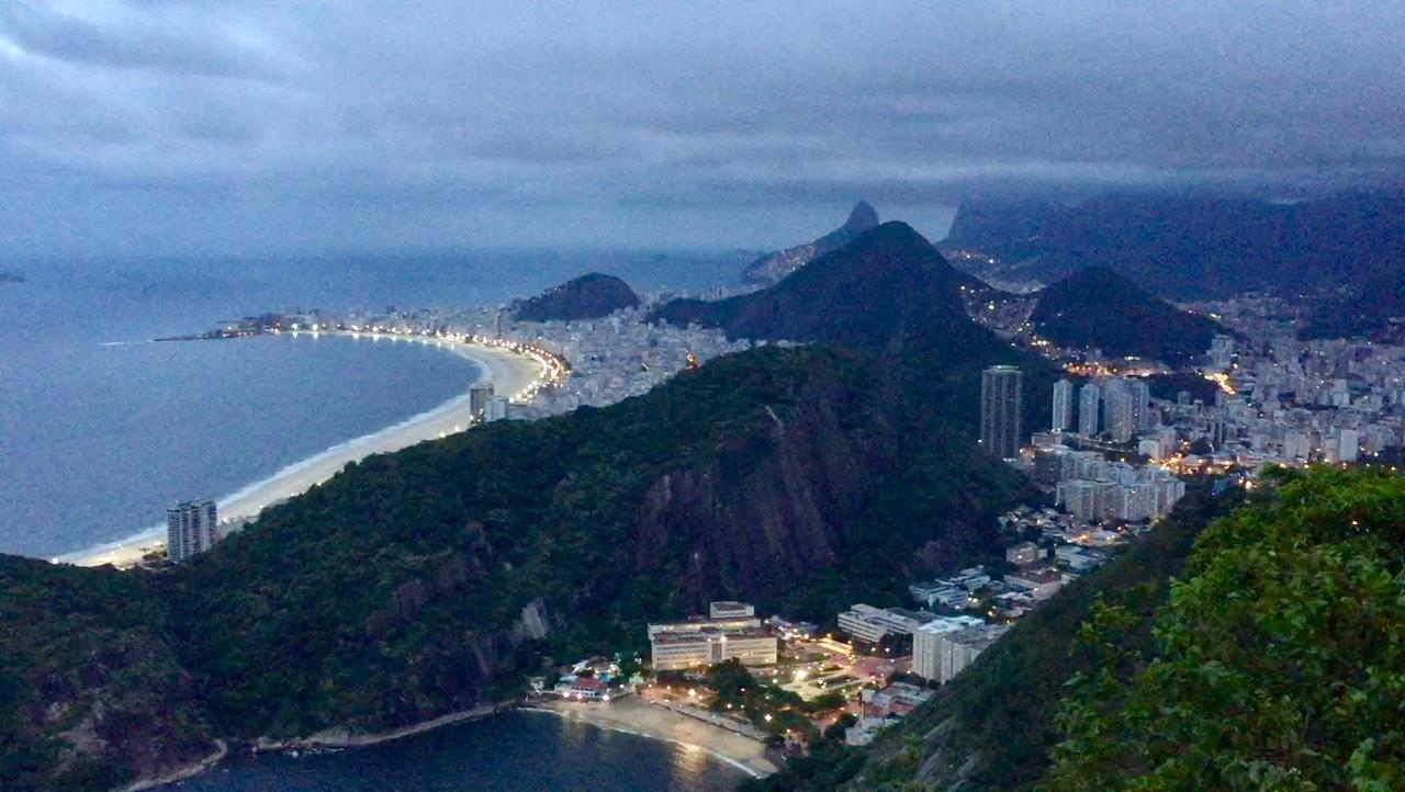 Vista de Rio de Janeiro desde el Pan de Azúcar, una de las mejores cosas que ver y que hacer en Rio de Janeiro