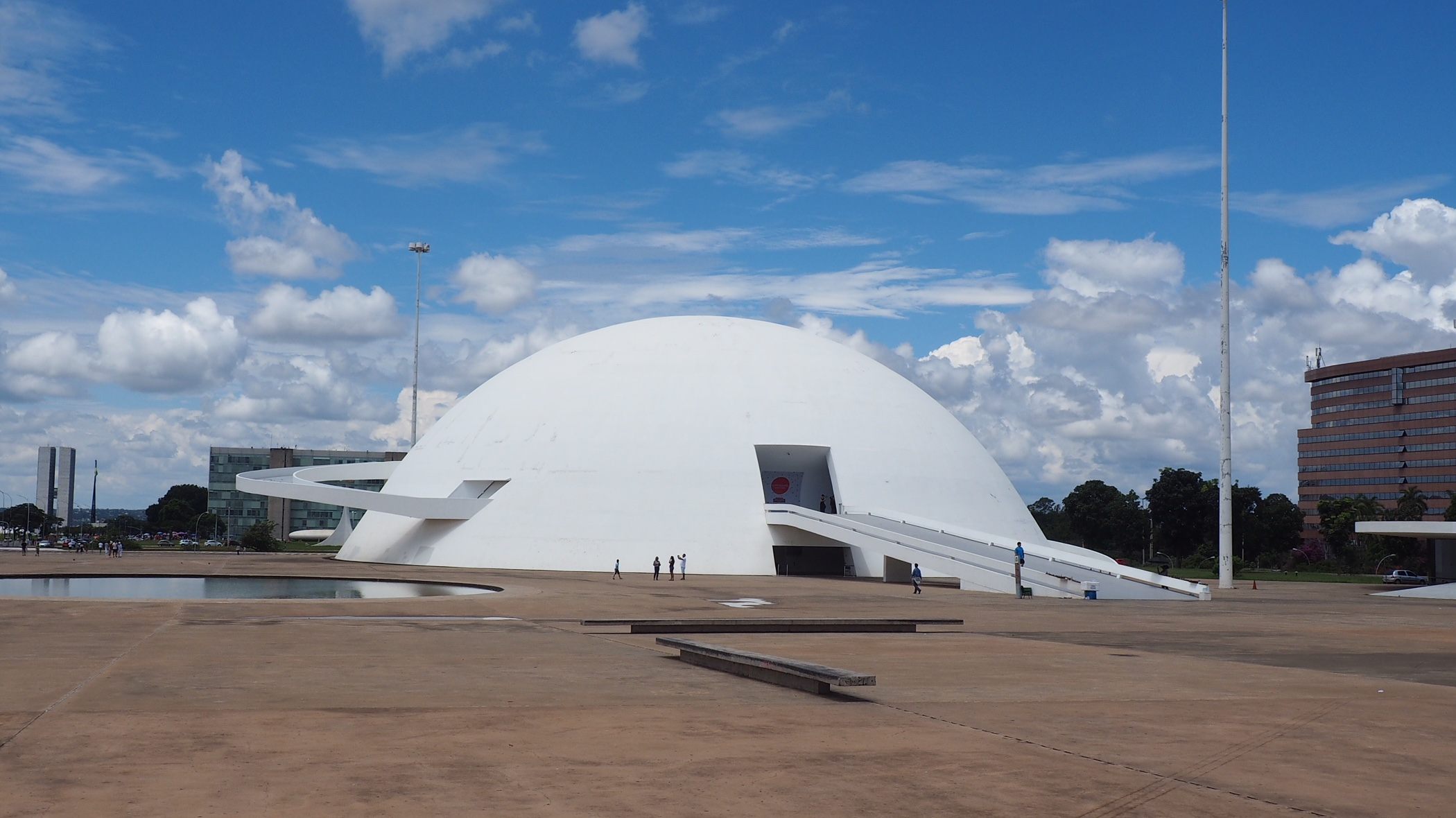Qué hacer en Brasilia; visitar el Museo Nacional de Brasil