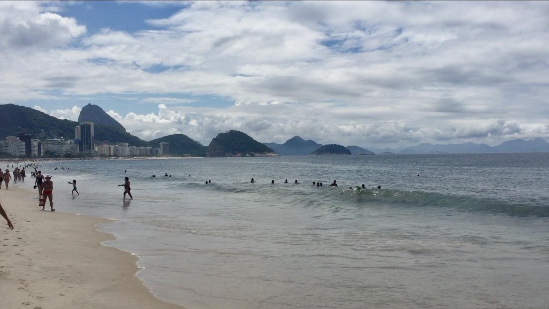 Playa de Copacabana, una de las mejores cosas que ver y que hacer en Rio de Janeiro