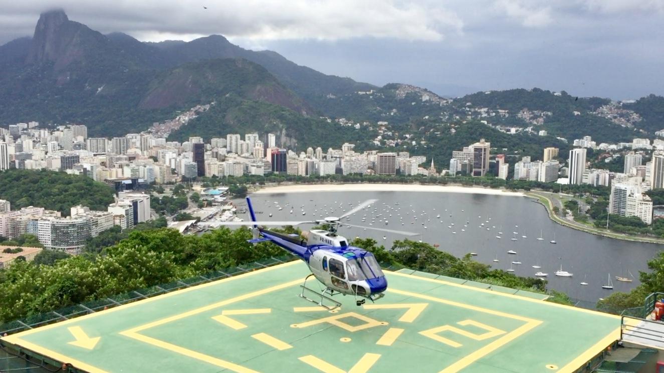 Paseo en helicóptero en Rio de Janeiro