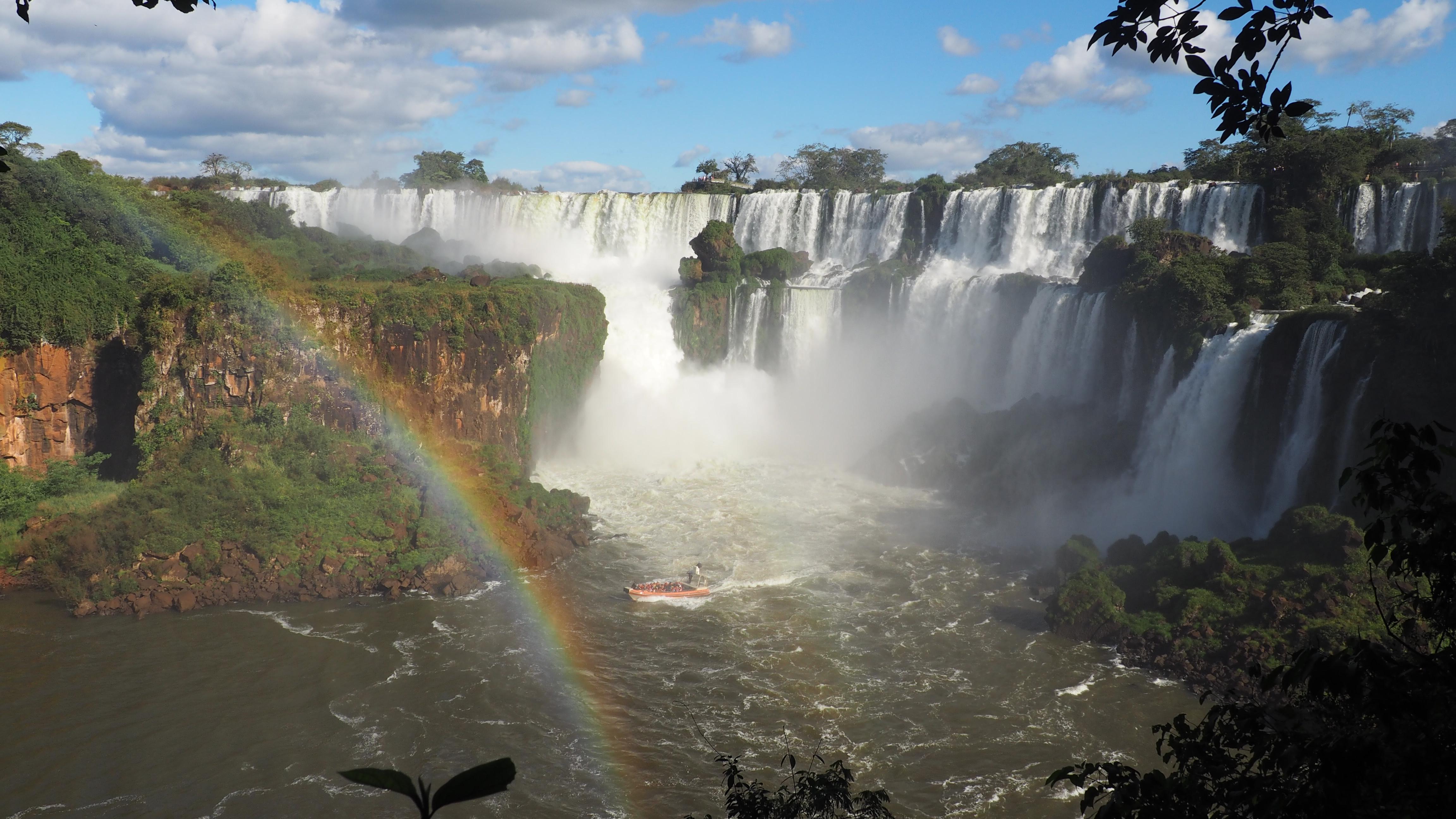 Cataratas de Iguazú en el lado Argentino