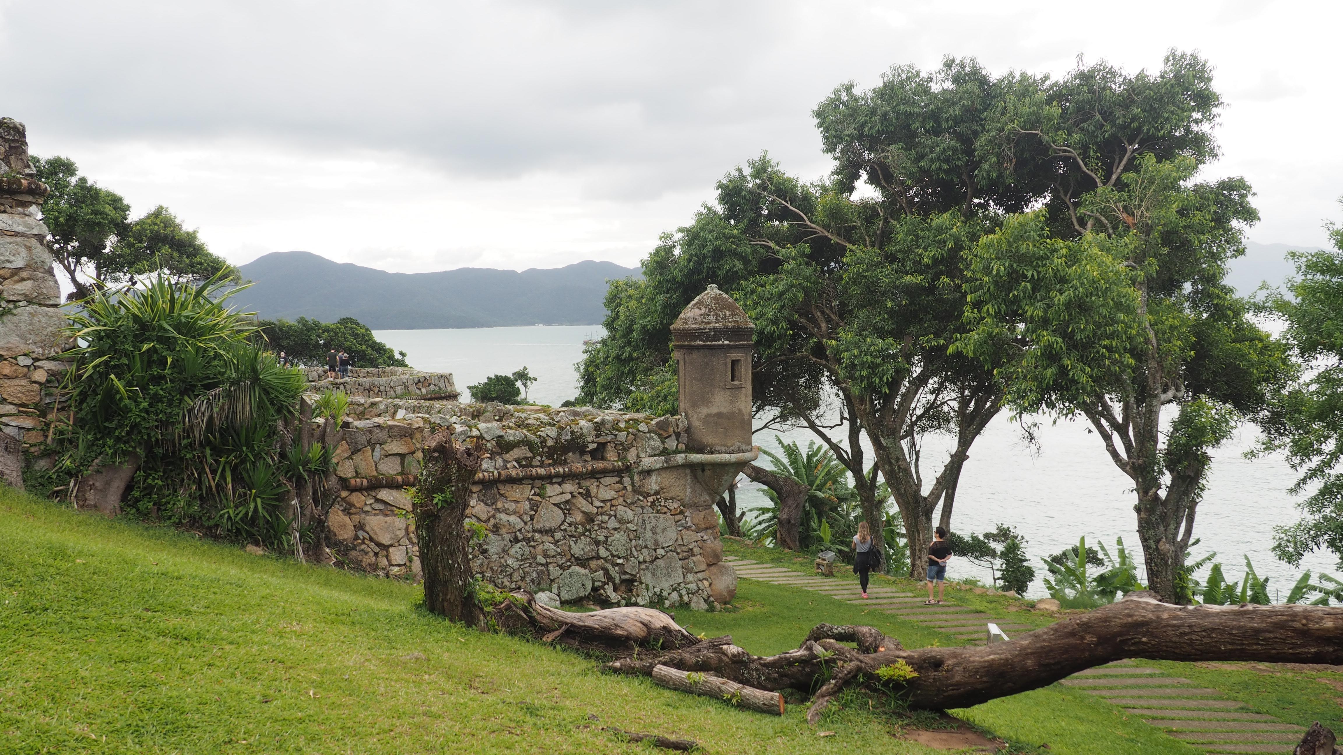 Exterior del fuerte de Sao Jose de Ponta Grossa
