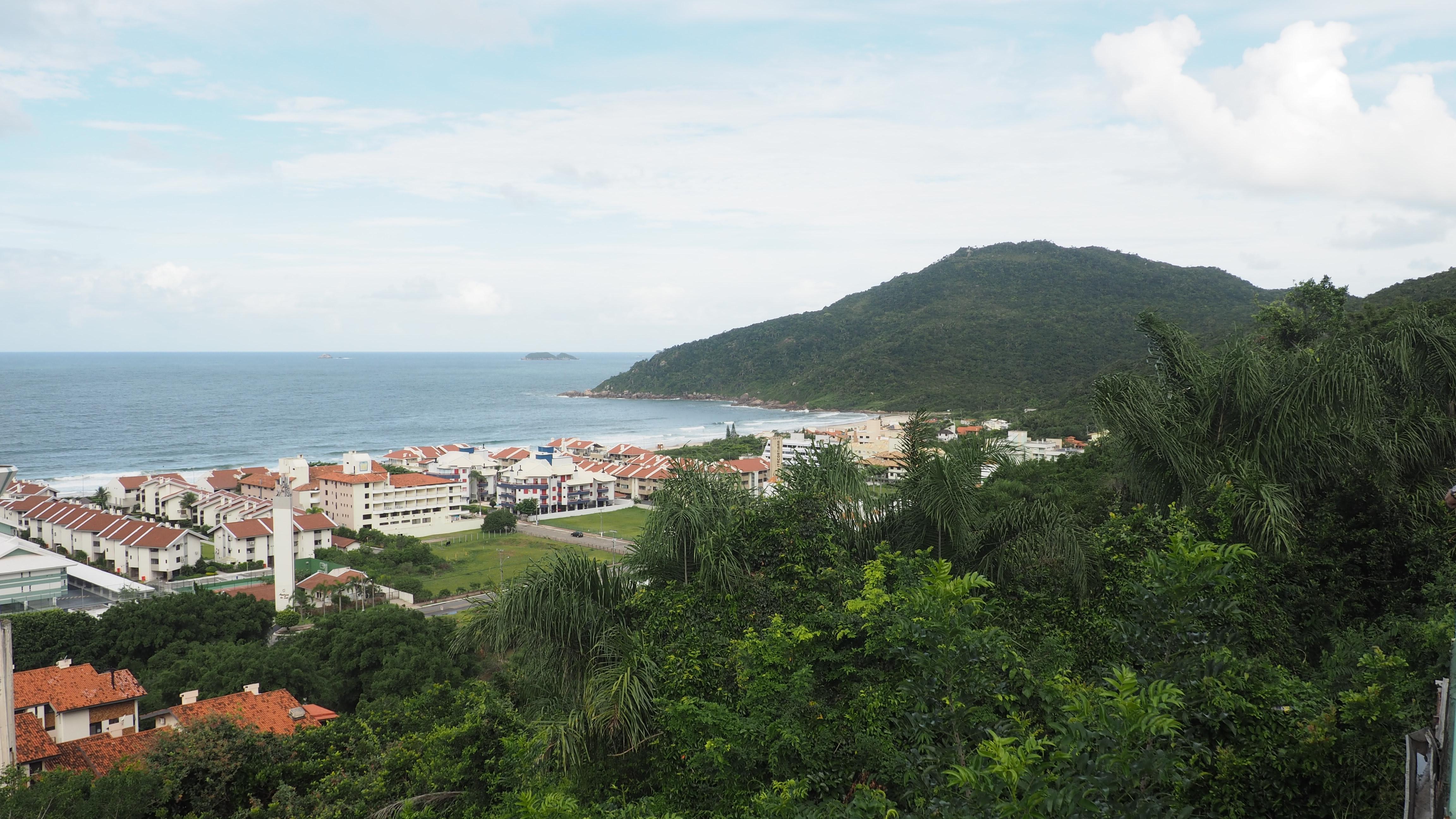 El mirador de Playa Brava, en Florianópolis