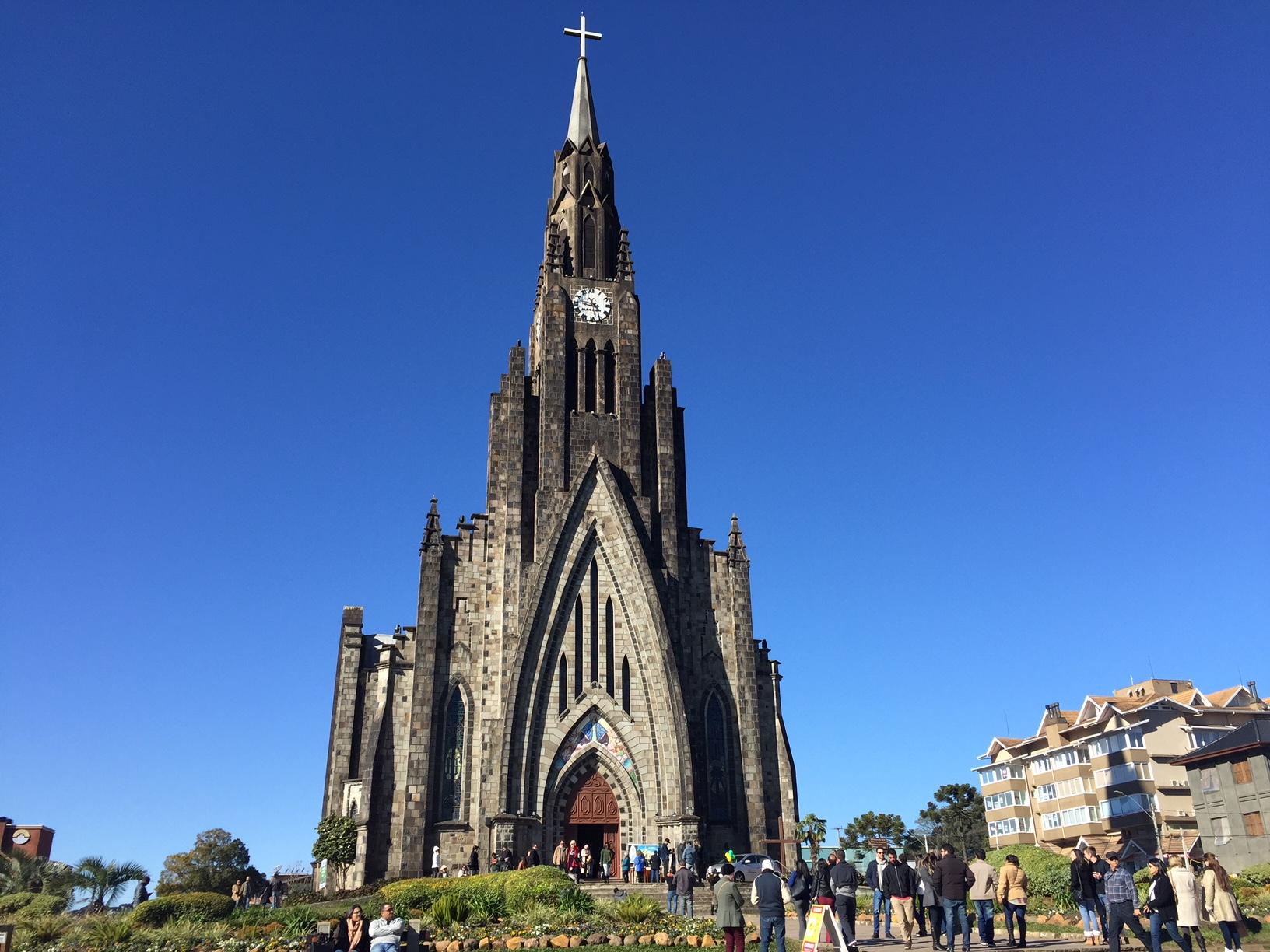 La Catedral de Canela, también conocida como Catedral de Piedra, una de las coas que ver en Canela