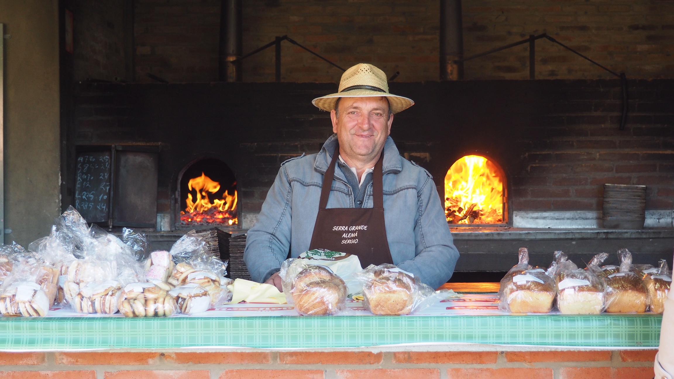qué hacer en Gramado, visitar el parque de las naciones, donde se elabora pan artesanal, por ejemplo.