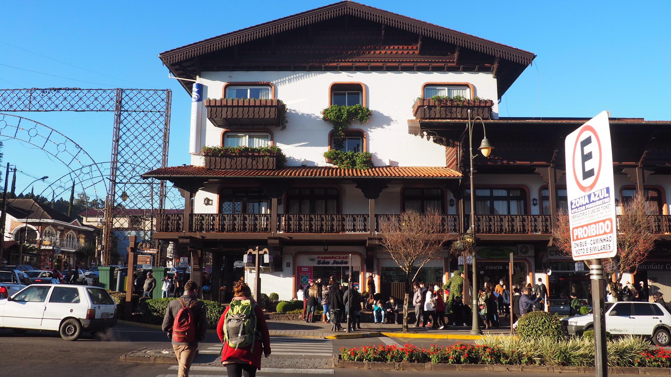 Foto del Alojamiento en Gramado, concretamente el Hotel Serra Azul