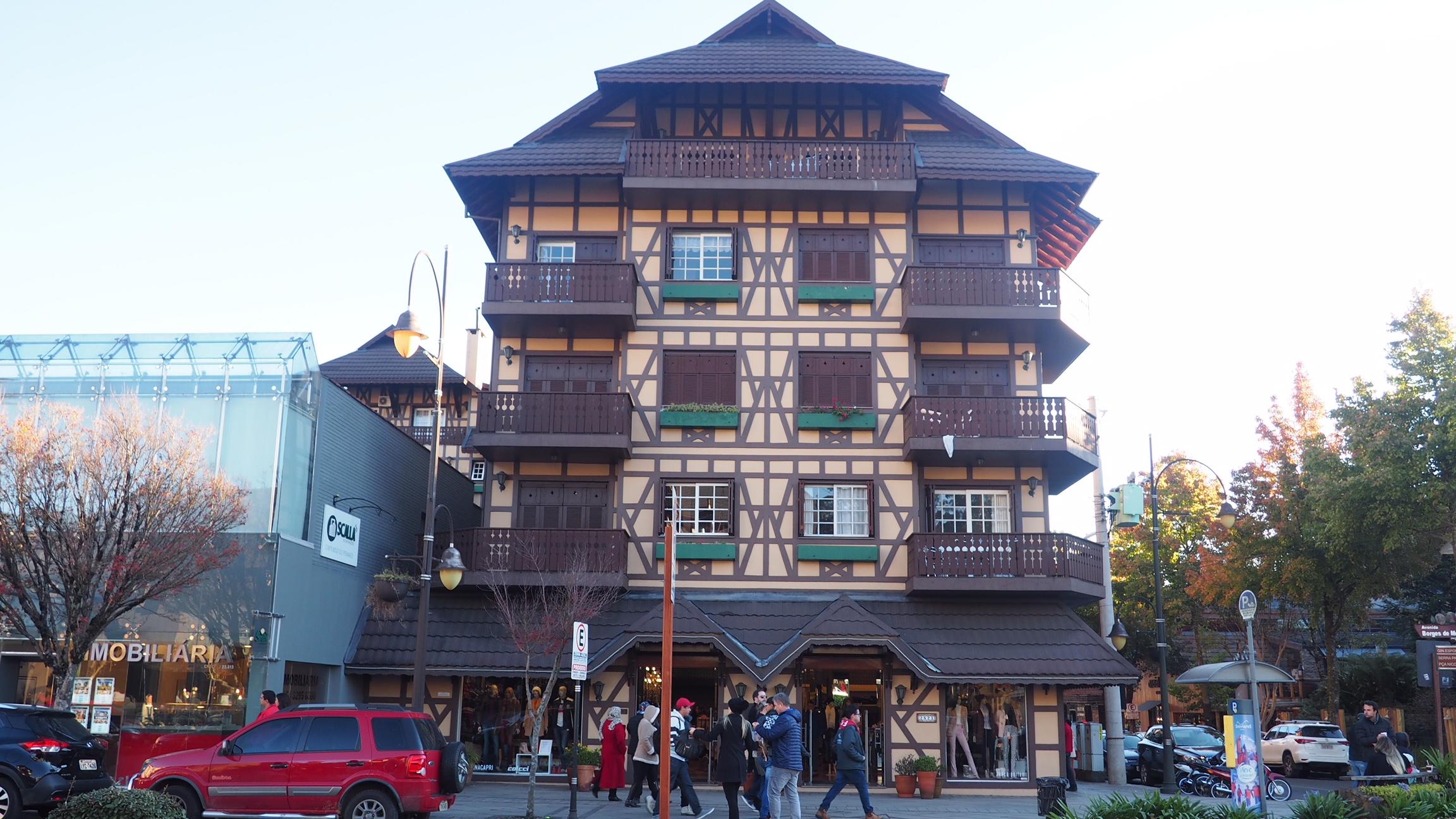 Casas de arquitectura alpina en Gramado, una de las cosas que ver en Gramado