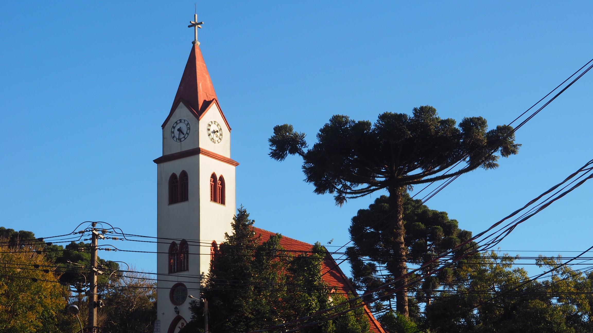 Una de las iglesias que ver en Gramado
