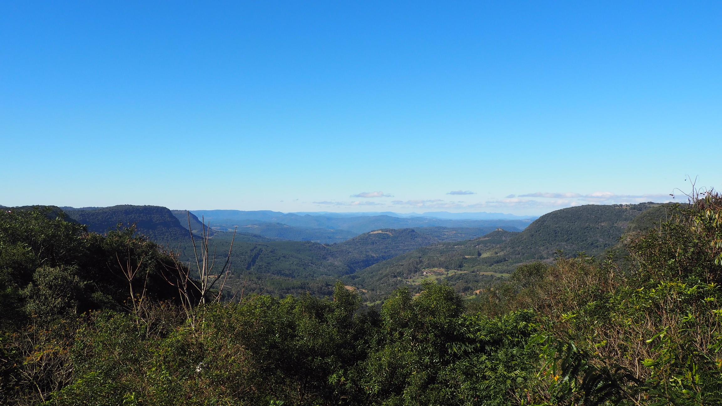 Vista del valle desde Gramado, una de las cosas que ver en Gramado