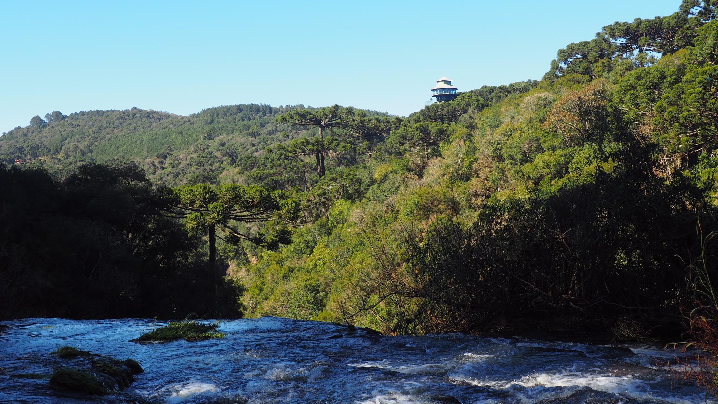 Mirador de la Cascada del Caracol, uno de los lugares turísticos de Canela