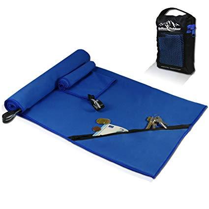 Basics microfibra, 1 toalla de ba/ño Toalla de viaje y deporte
