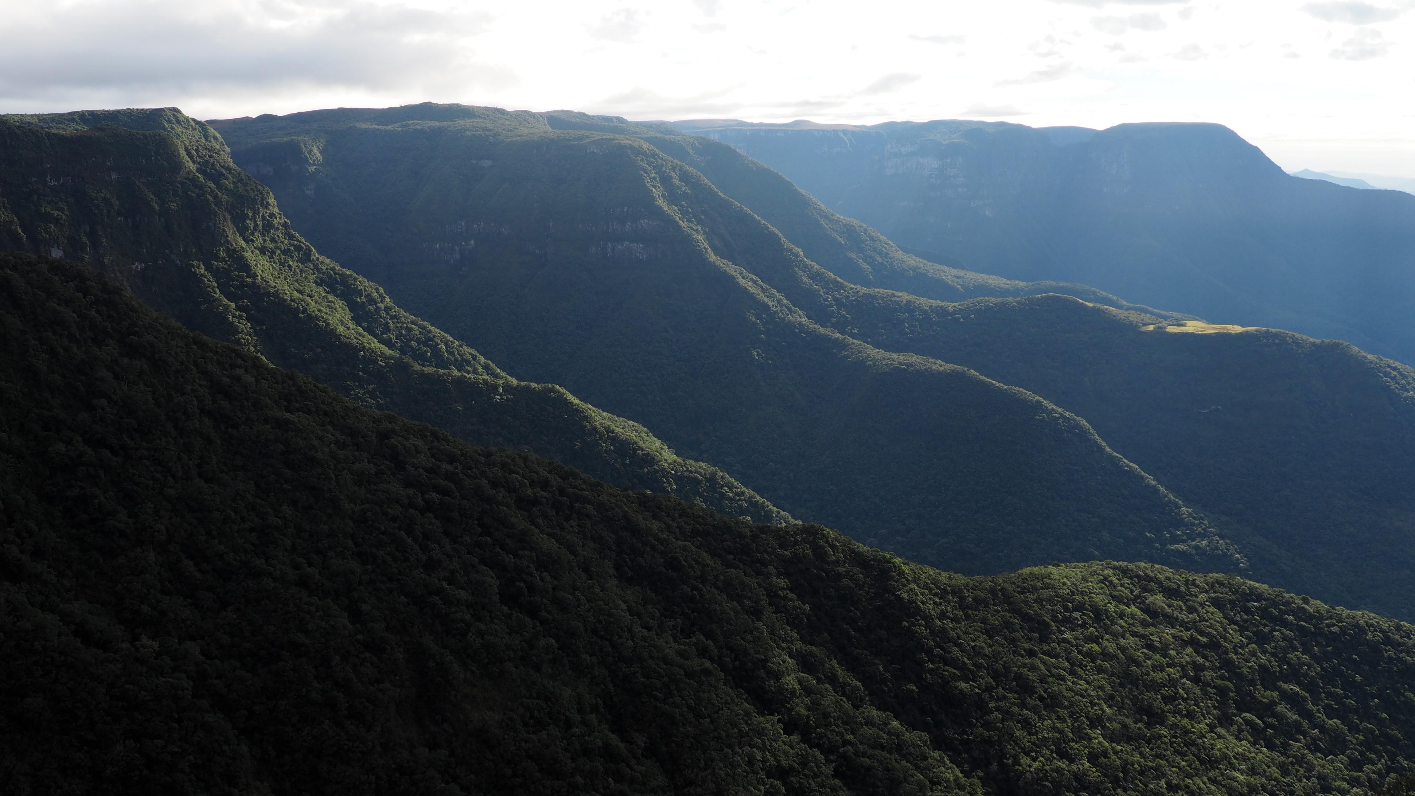 Vista de Aparados da Serra, cómo llegar al cañón de Itaimbezinho