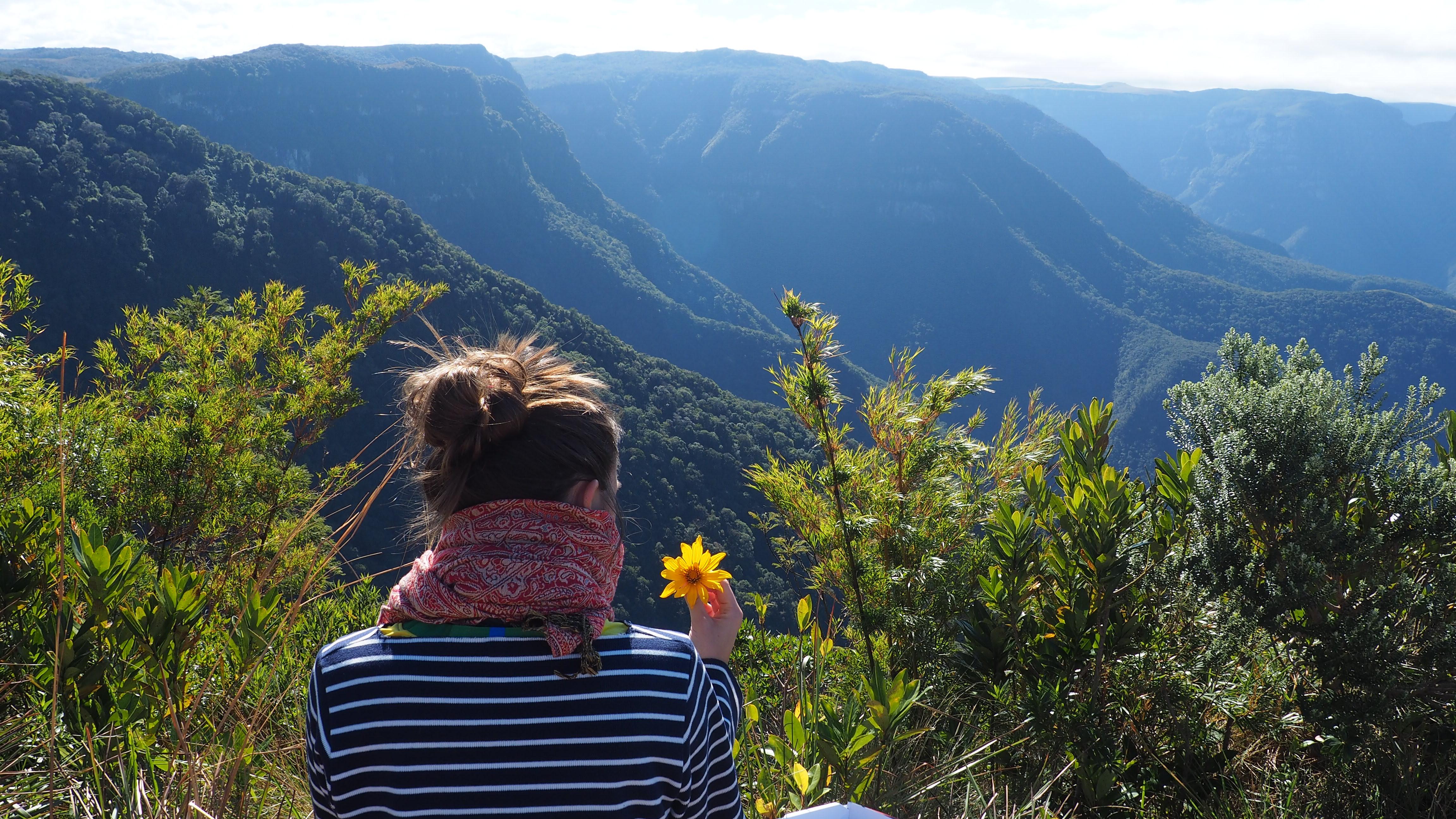 Vistas de la Serra Geral desde la carretera