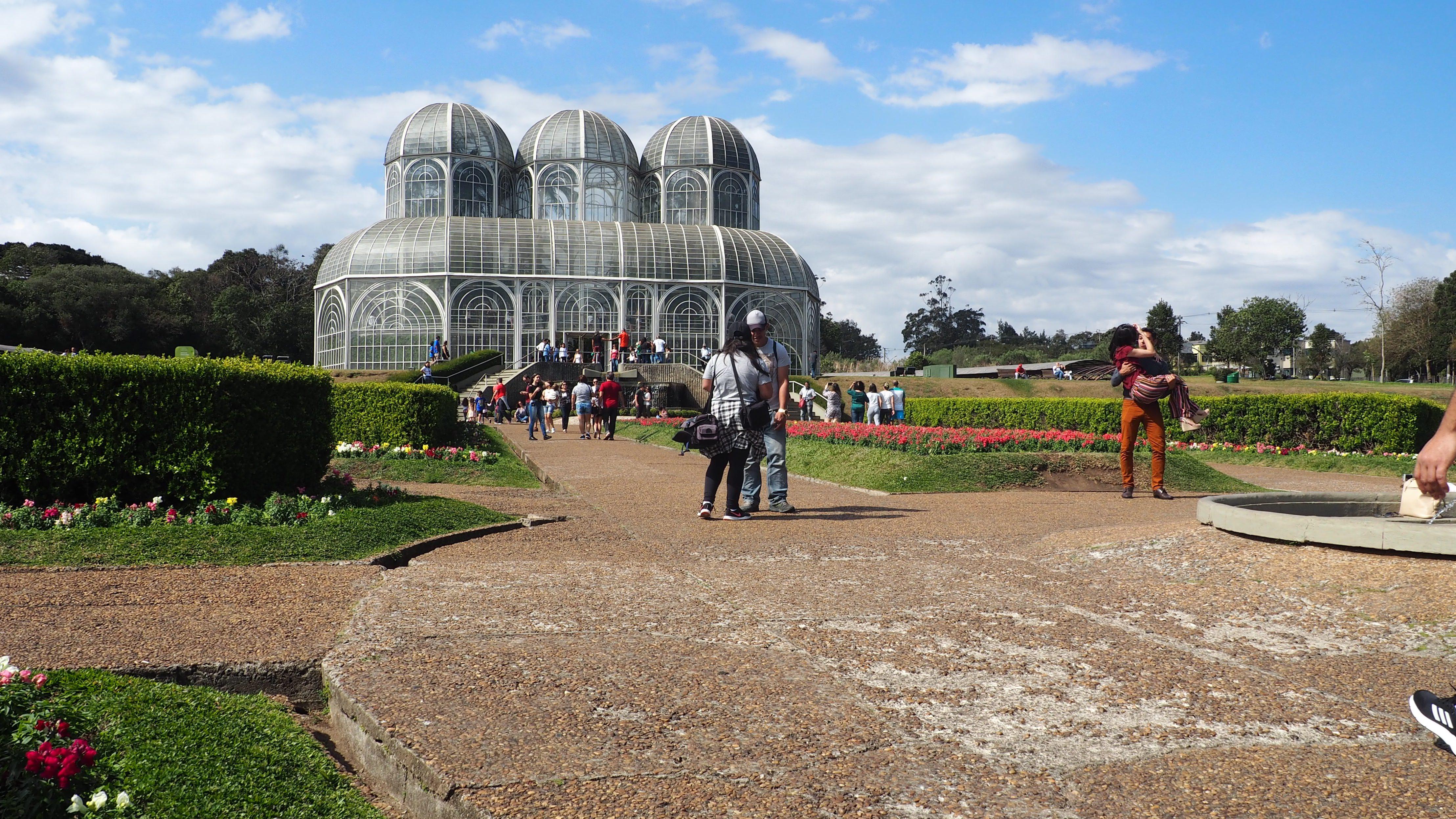 El Jardín Botánico de Curitiba; la principal atracción turística que ver en Curitiba