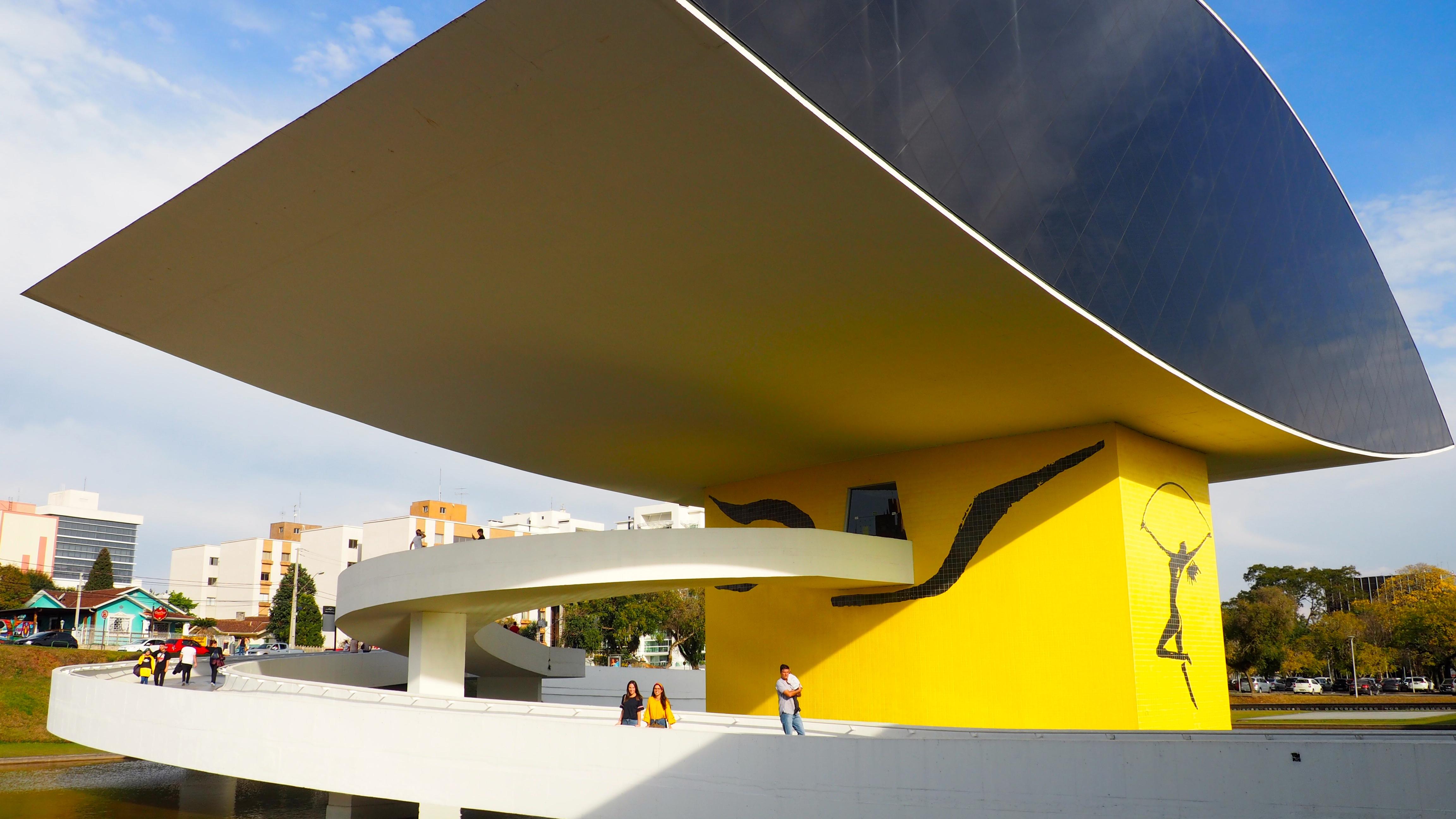 Museo Oscar Niemeyer, una de las mejores cosas que ver en Curitiba