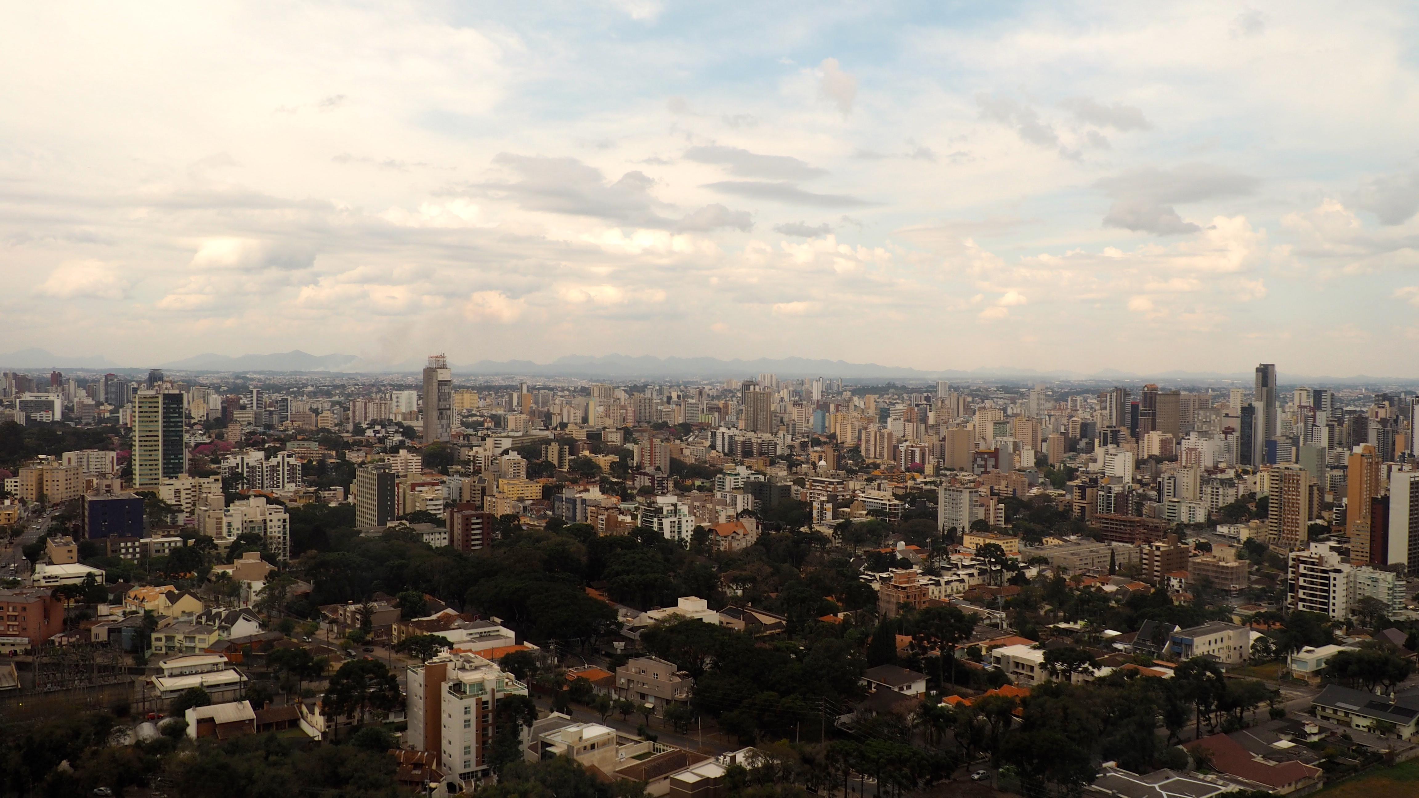 Vista Panorámica de Curitiba; una de las cosas que ver en Curitiba