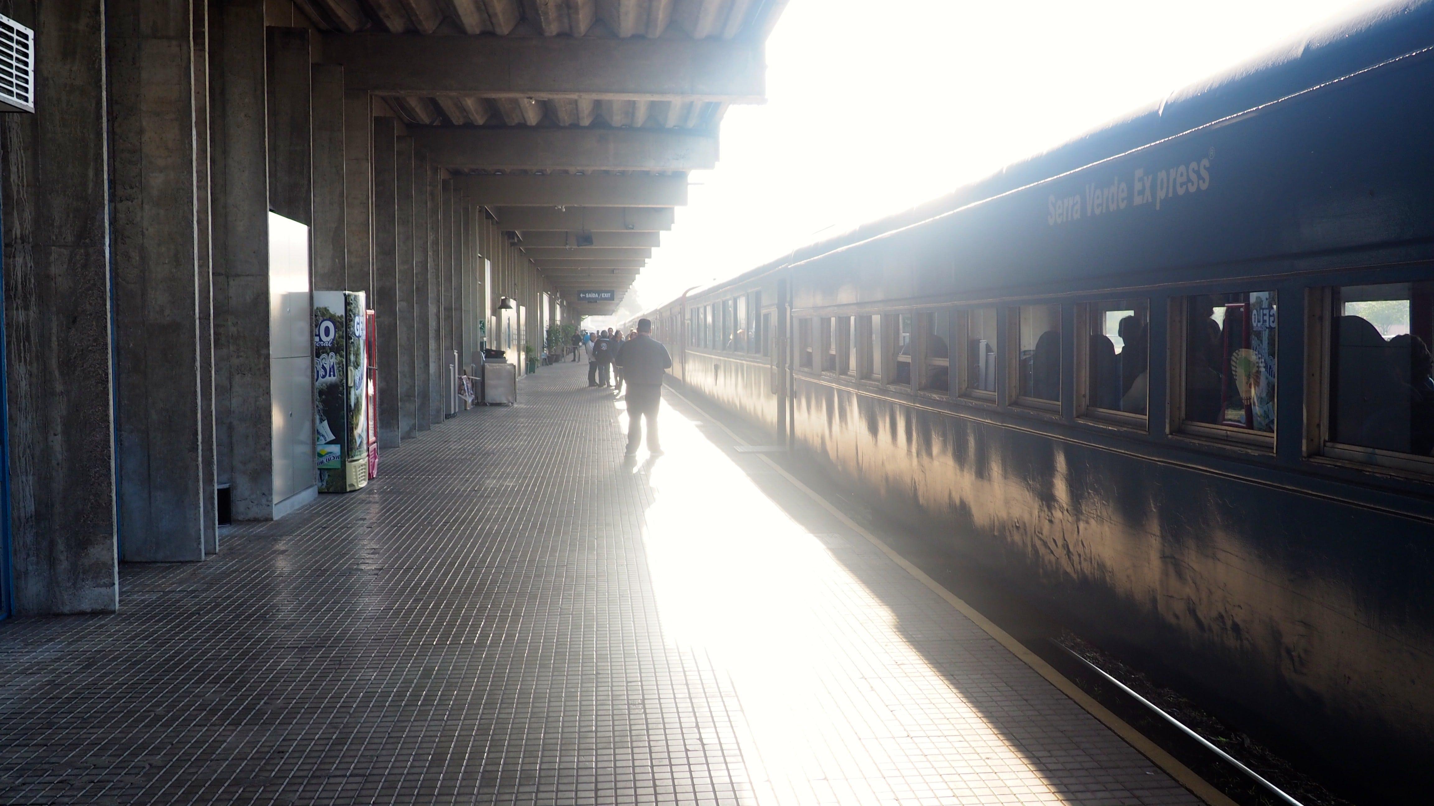 Estación Rodoferroviaria de Curitiba; punto de salida del Serra Verde Express