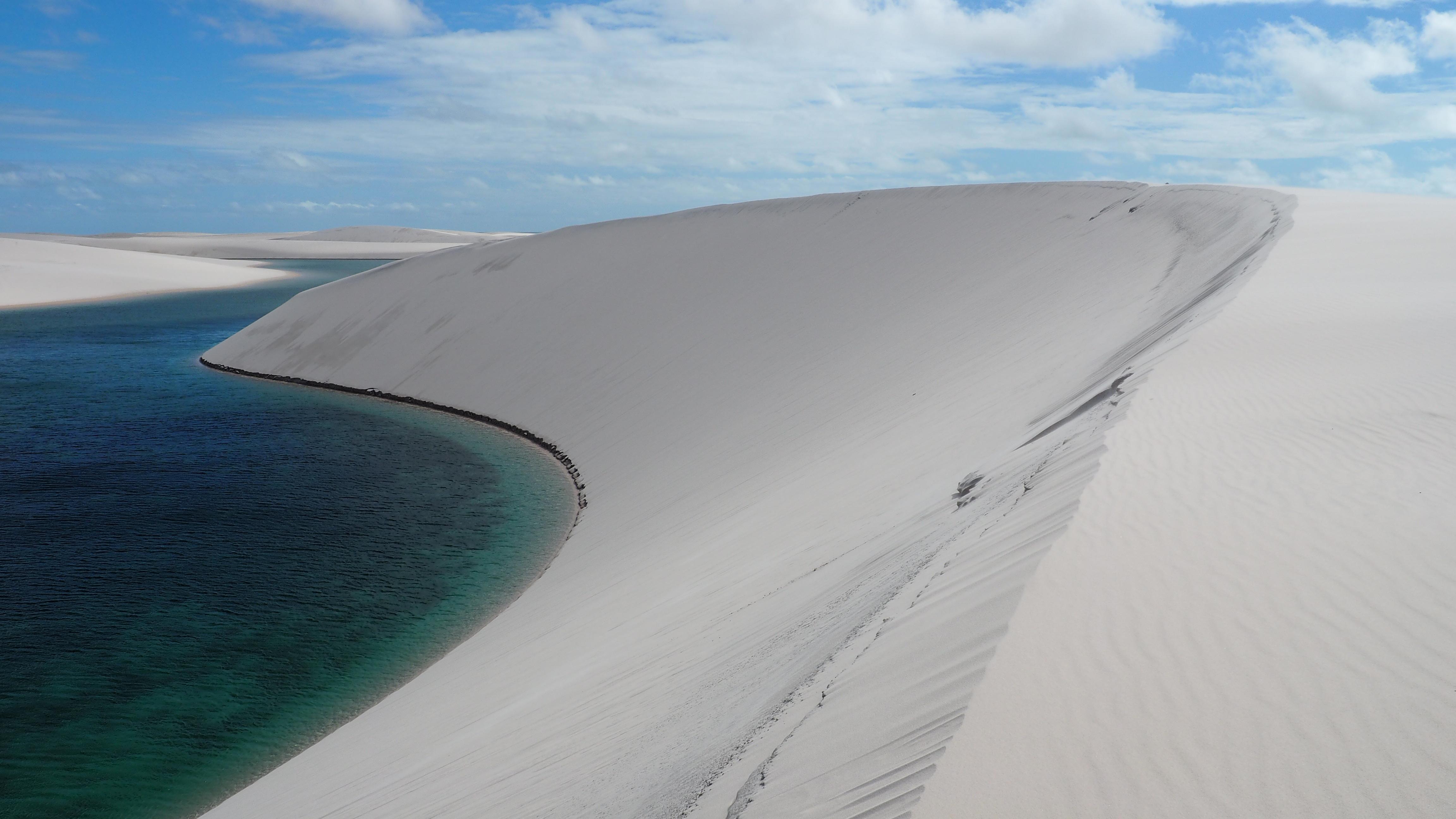 Lençois Maranhenses; el Parque Nacional de las dunas y los lagos