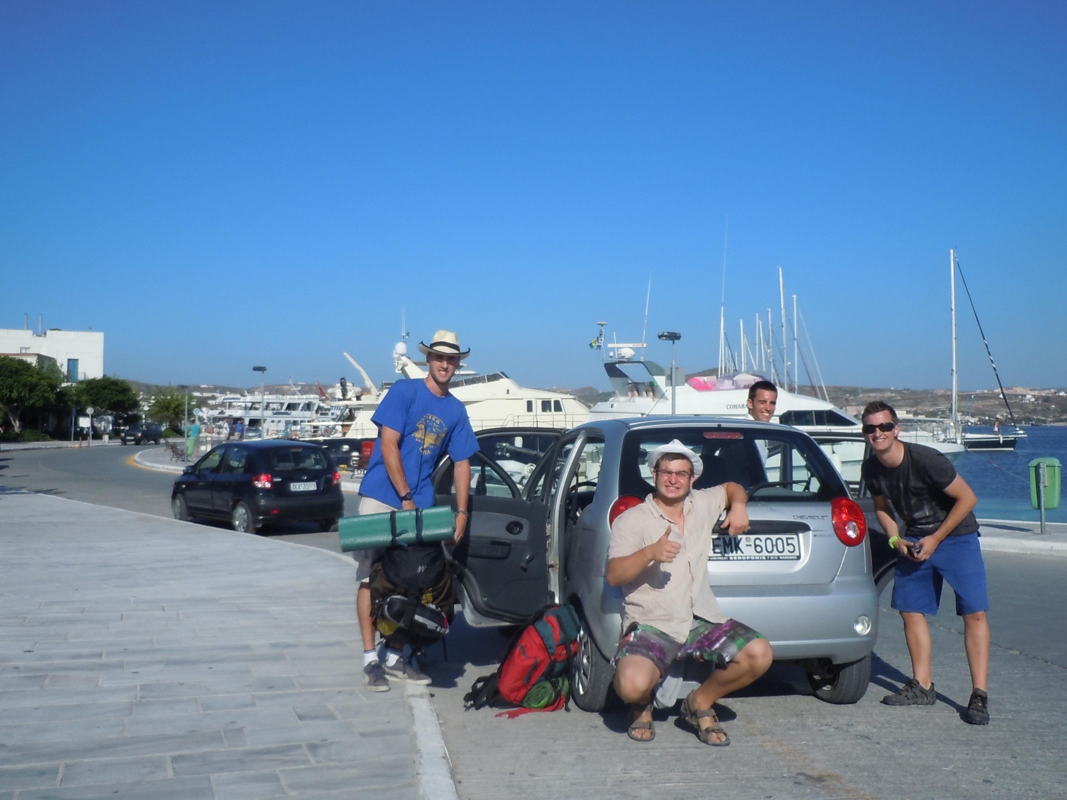 Nuestro transporte en Milos, cómo moverse en Milos